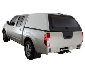 Aeroklas Hardtop Commercial Nissan Navara D40 Double cab