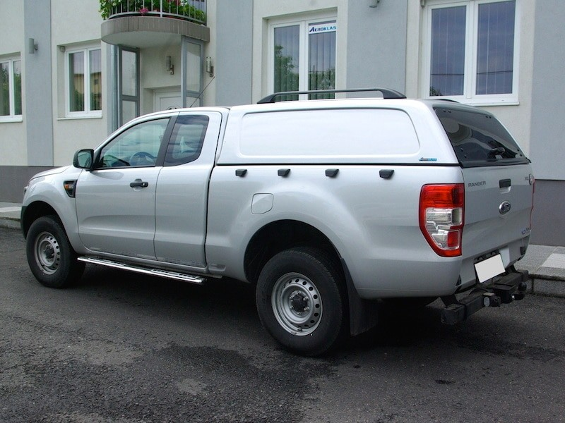 Aeroclass Hardtop Commercial ford Ranger Supercab