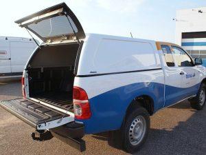 Aeroklas Hardtop Commercial Ford Ranger Supercab 2006-2012