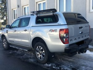 Aeroklas Stylish Hardtop Pop up Ford Ranger DC 2012+