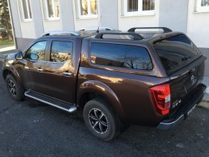 Aeroklas Stylish Hardtop popout side window Nissan Navara Np300 DC 2015+