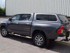 Aeroklas Stylish Hardtop popout window Toyota Hilux dc 2015+