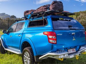 Aeroklas Stylish Hardtop popup side window Mitsubishi L200 DC 2015+