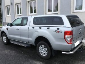 Aeroklas stylish hardtop popout Ford ranger Supercab 2012+