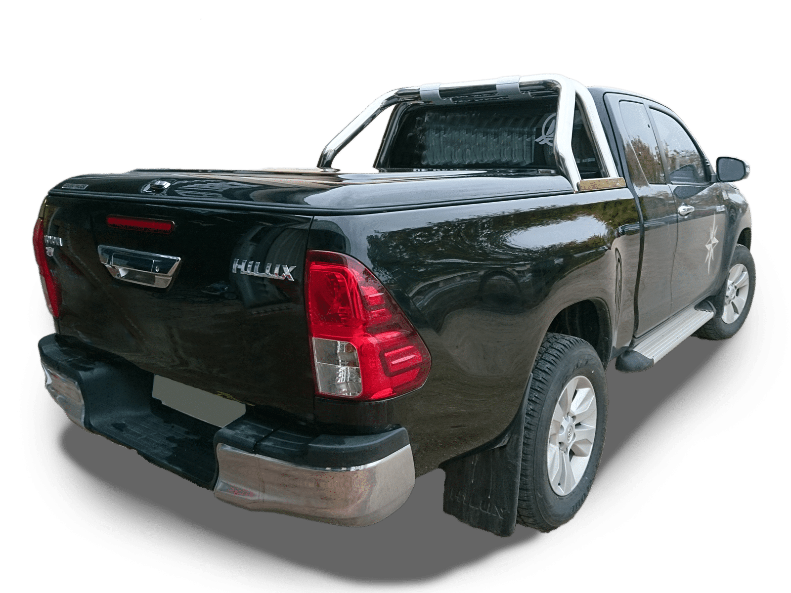 Topline-cover-toyota-hilux-Extra-cab-2015+-rollbar