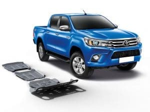 Rival underbody guard set Toyota Hilux 2016+